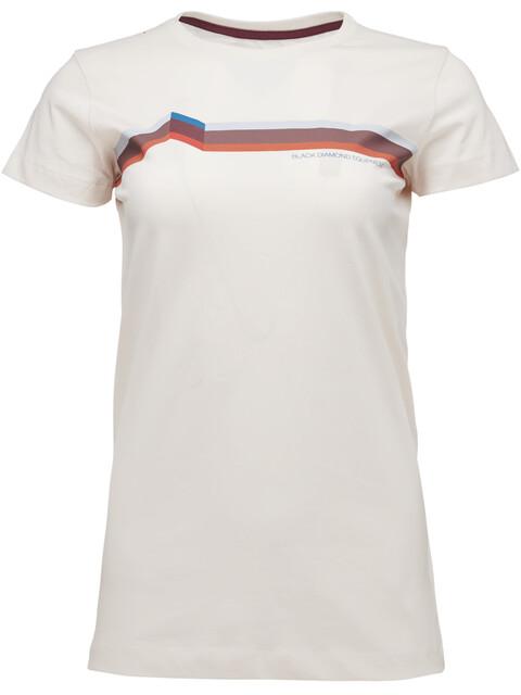 Black Diamond Perspective - T-shirt manches courtes Femme - beige